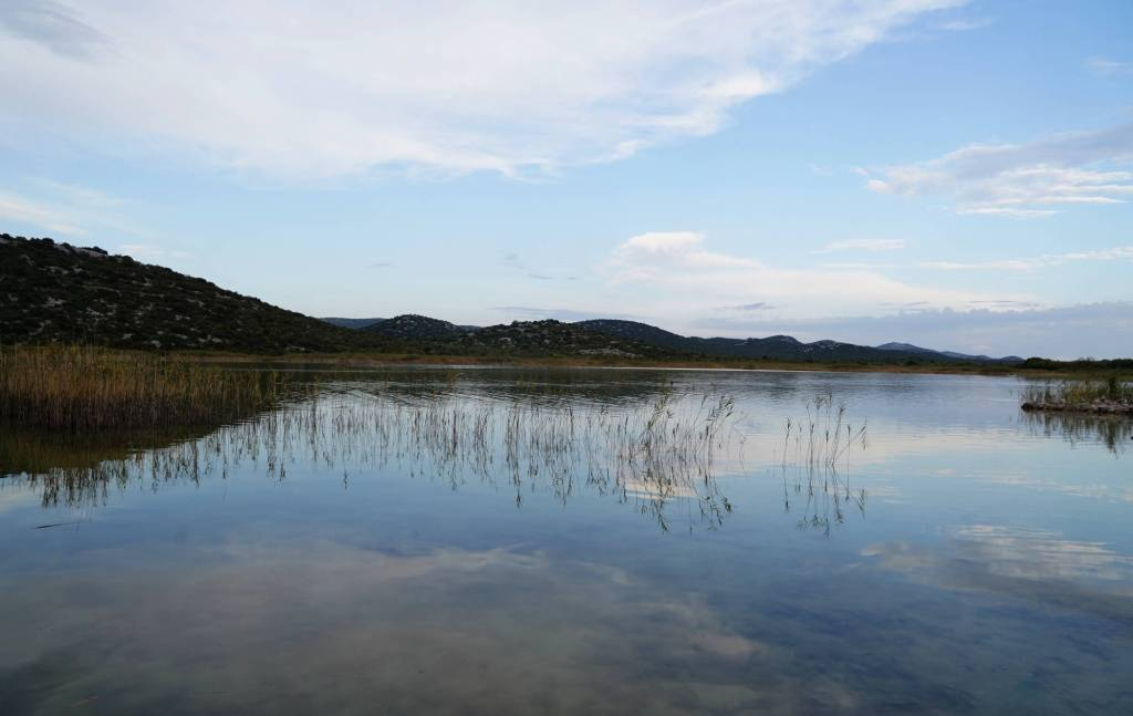 Stille am Vrana See