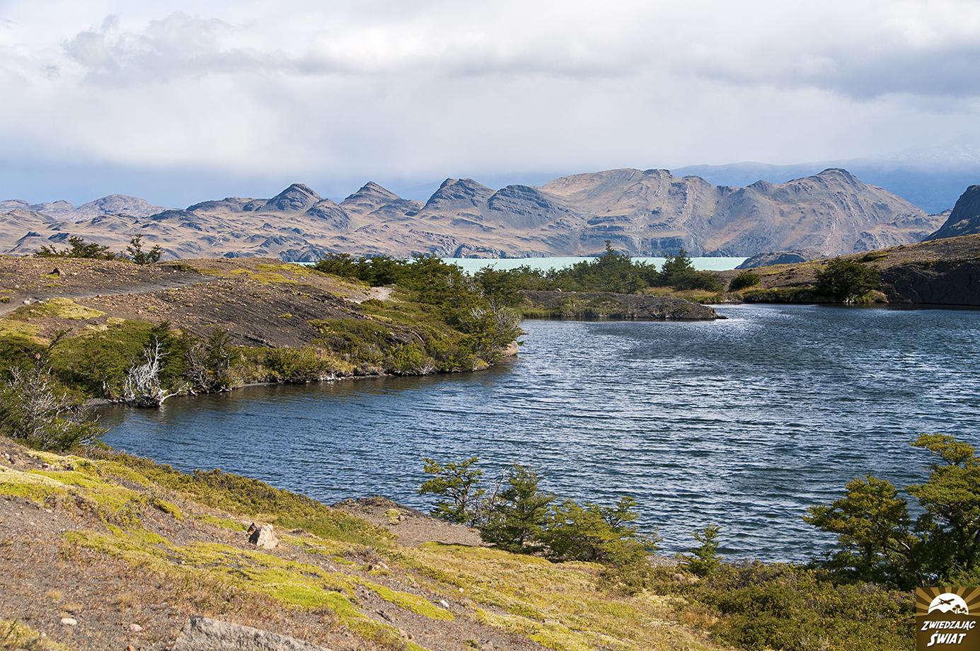 okolica Jeziora Nordenskjöld w PN Torres del Paine