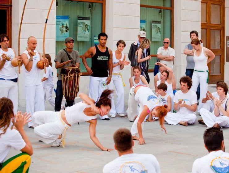 Capoeira synteza walki i sztuki