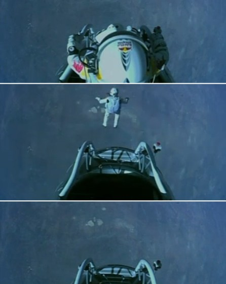 Felix Baumgartner, skok ze spadochronem