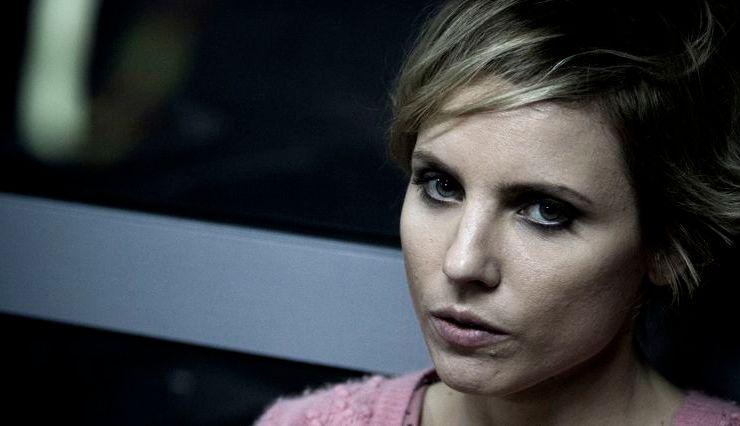 "Julia Kijowska, kadr z filmu ""Drogówka"""