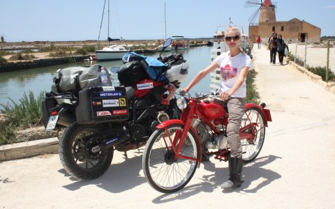 Ania Jackowska, Włochy od podeszwy