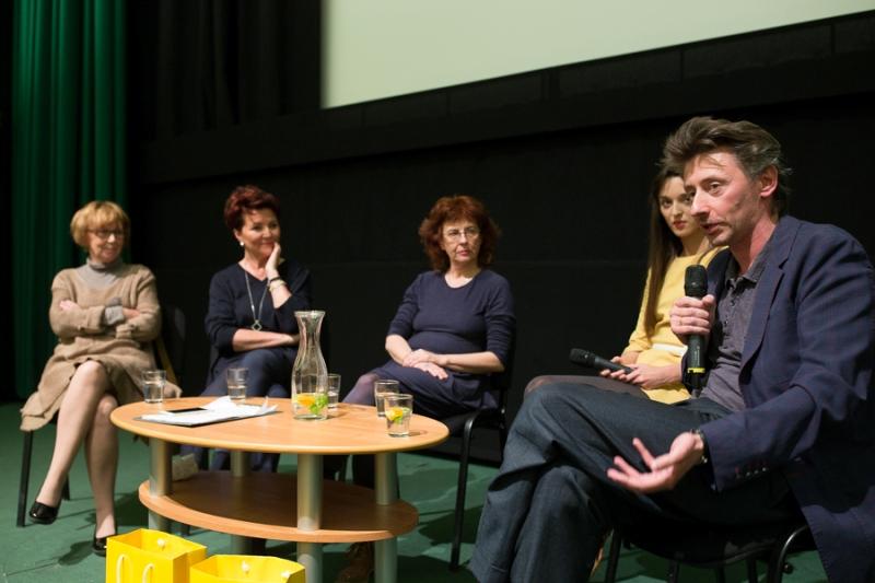Uczestnicy debaty