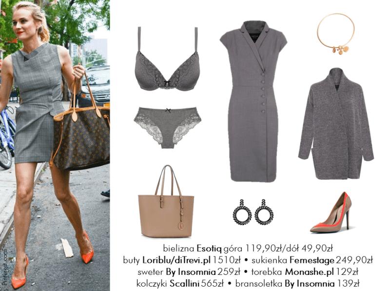 Diane Kruger - w stylu gwiazd