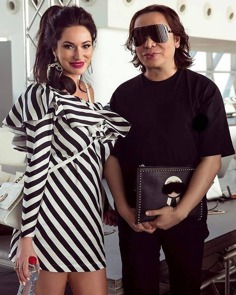 Sylwia Romaniuk z Michael Cinco Designer