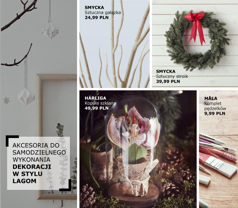 świąteczne inspiracje w skandynawskim stylu lagom