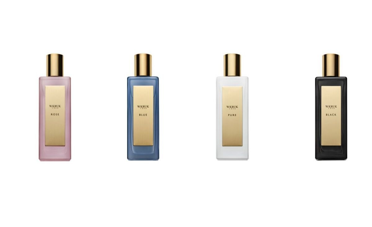 Wody perfumowane W.Kruk w czterech wariantach zapachowych (Fot. materiały prasowe)
