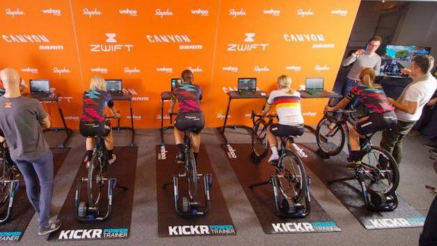 Details revealed of Canyon//SRAM's selection process for women's team rider via Zwift Training Academy