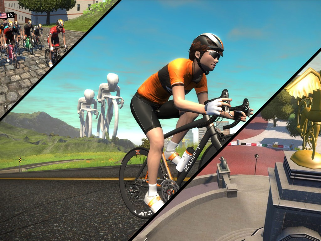 Zwift Course Schedule for June