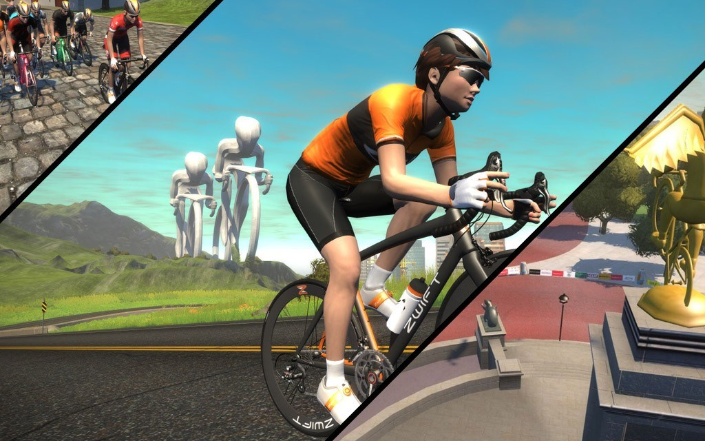 Zwift Course Schedule for August