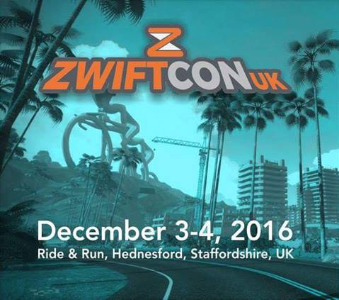 ZwiftCon UK December 3-4, 2016 in Staffordshire, UK