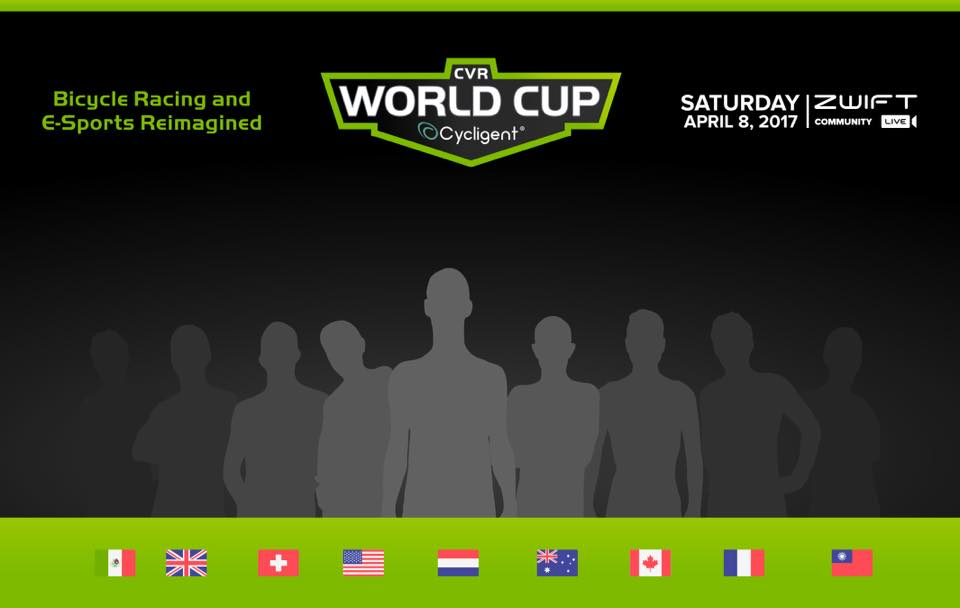 Cycligent e-sports World Cup announced