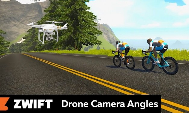 Swift Zwift Tip: New In-Game Drone Camera Angle (video)