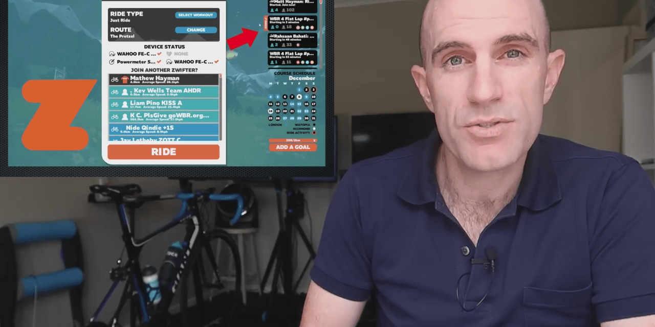Swift Zwift Tip – Joining a Group Ride or Event (video)