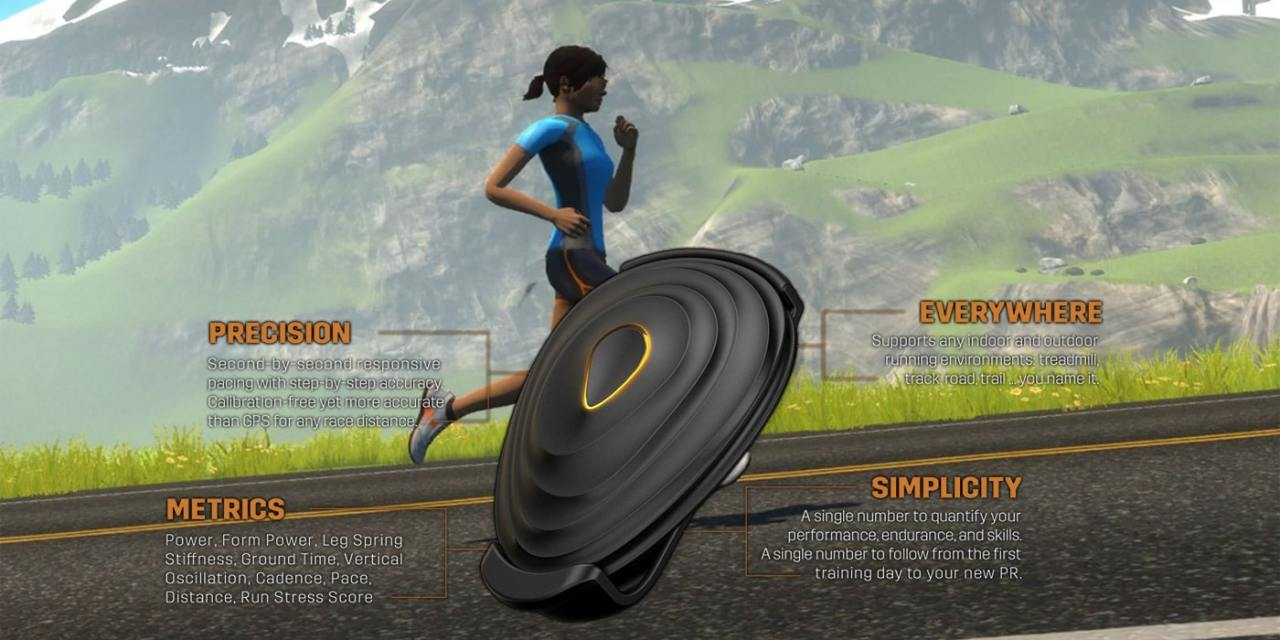 Running on Zwift with the Stryd Footpod