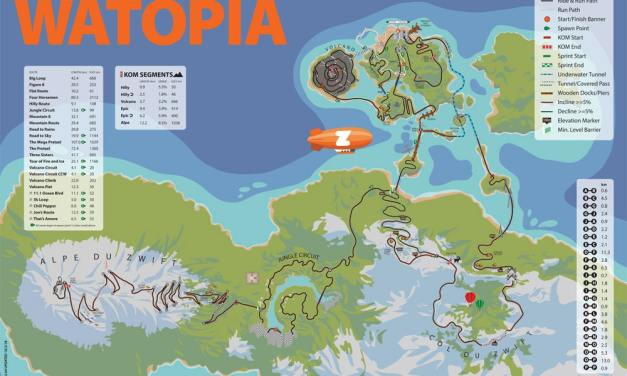 New Watopia Map Posters Available