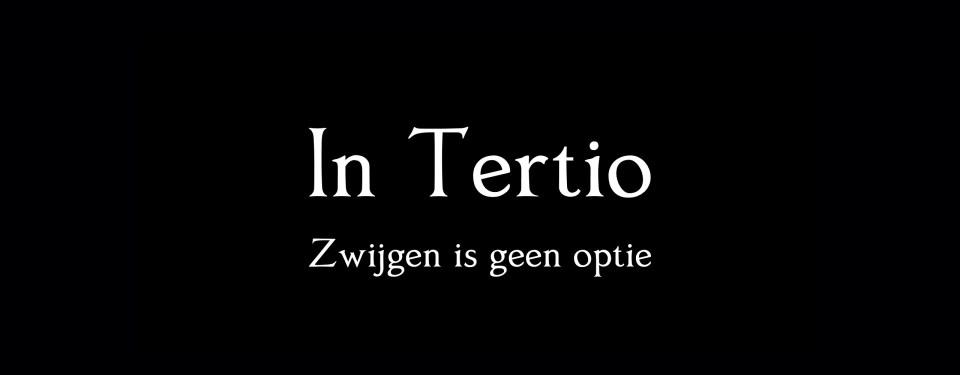 Tertio - Zwijgen is geen optie