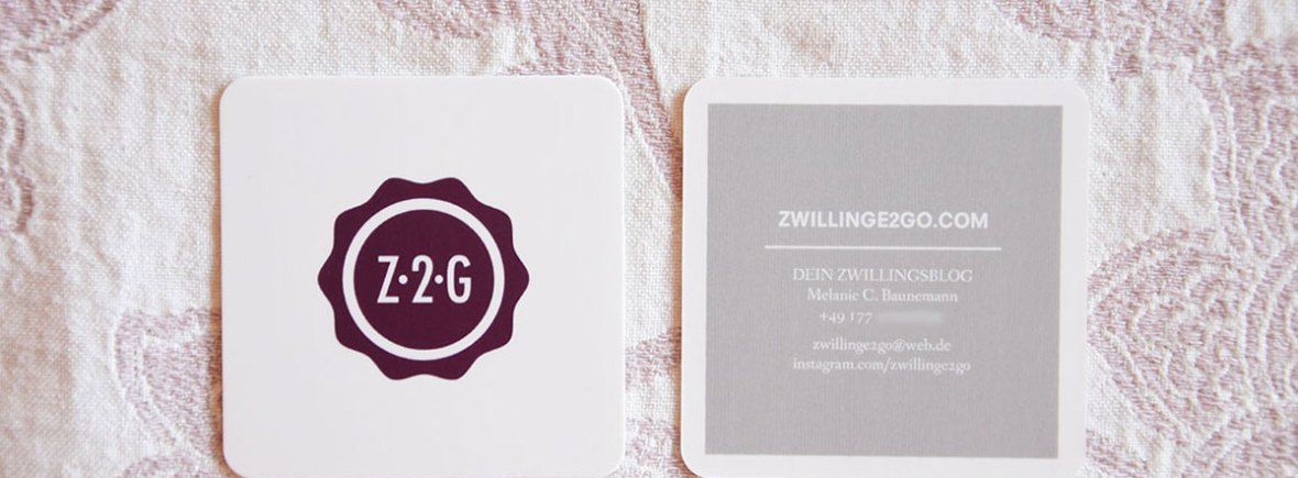 Kooperation mit Zwillinge2go - Dein Zwillingsblog.