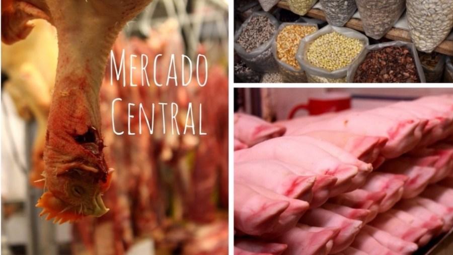 Der Mercado Central in Lima erstreckt sich über mehrere Ebenen.
