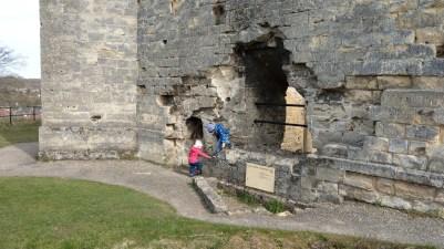 Die Burg wird erobert