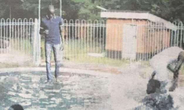 Prophet Paul Sanyangore 'walks on water' in FAKE miracle