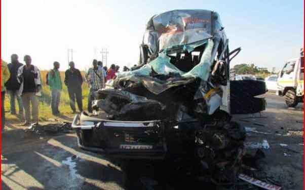 Zambian driver injured in truck-elephants accident on Bulawayo-Victoria Falls Road