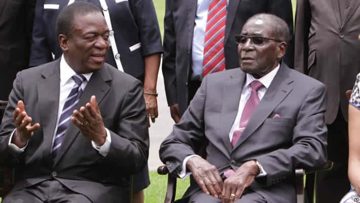 Breaking: Mnangangwa Dies