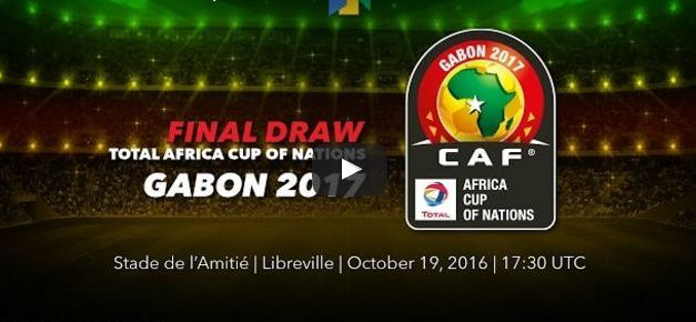LIVE UPDATES Online: CAF Africa Cup of Nations AFCON 2017 football finals groups draw today, Zimbabwe Gets Algeria in Group of Death