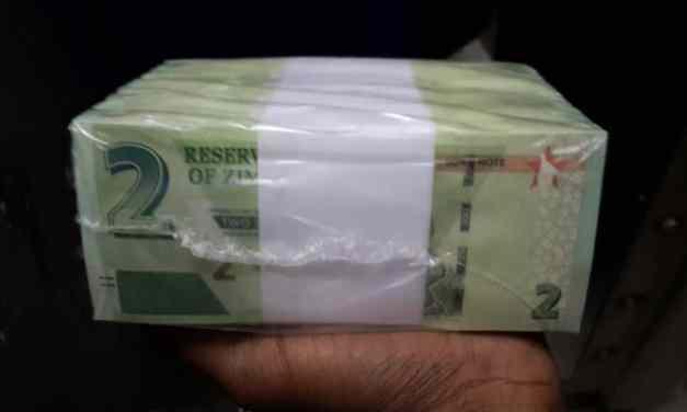 Pictures of Zimbabwe bond notes, new money update