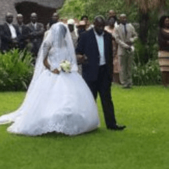 Zimbabwe's 70-yr-old minister Cain Mathema marries 23 year-old MSU girl, wedding video