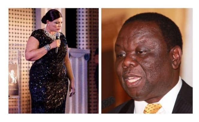 Morgan Tsvangirai's mother-in-law dies