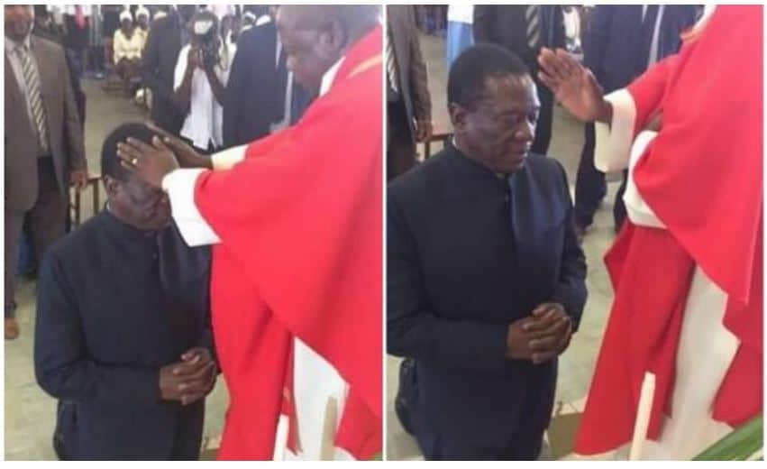 President Mnangagwa meets church leaders
