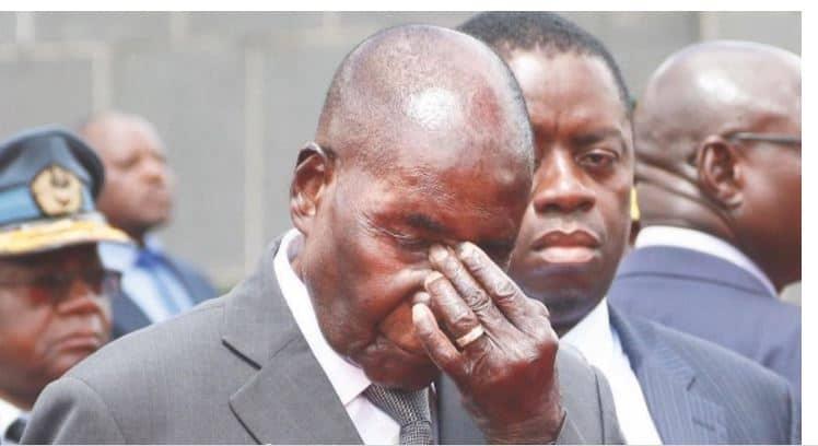 Mugabe now broke