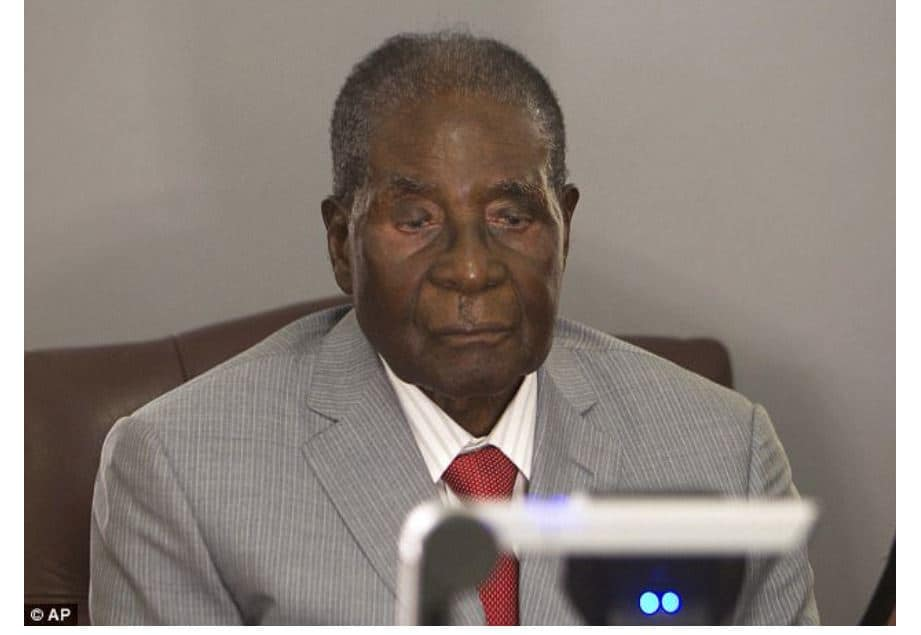 Mugabe about to die: Says Prophet