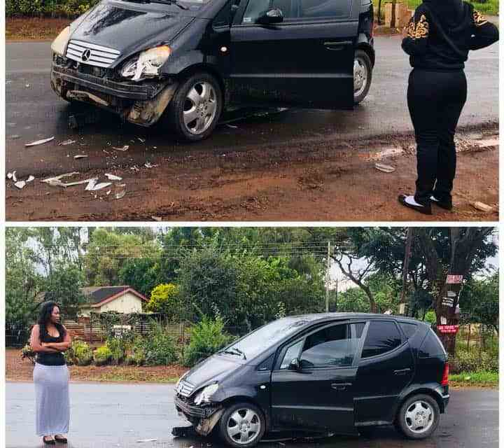 PICTURES: Madam Boss involved in accident