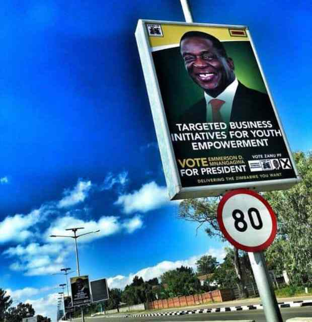 POSTERS: Mnangagwa presidential campaign blitz…'delivering the Zimbabwe you want'
