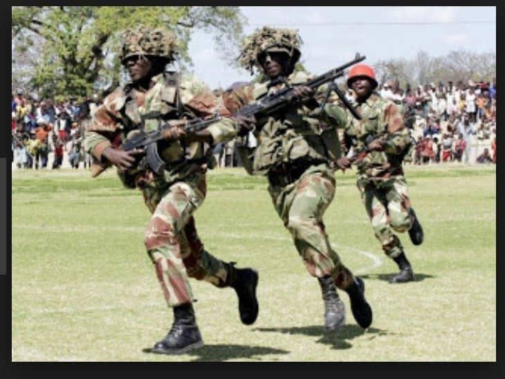 MWENEZI: 4 soldiers invade white farmer's sugarcane plot