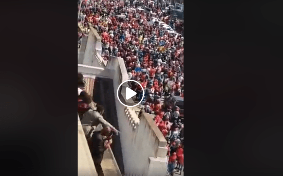 WATCH LIVE VIDEO: Chamisa  MDC Alliance Demo March in Harare Today..pictures