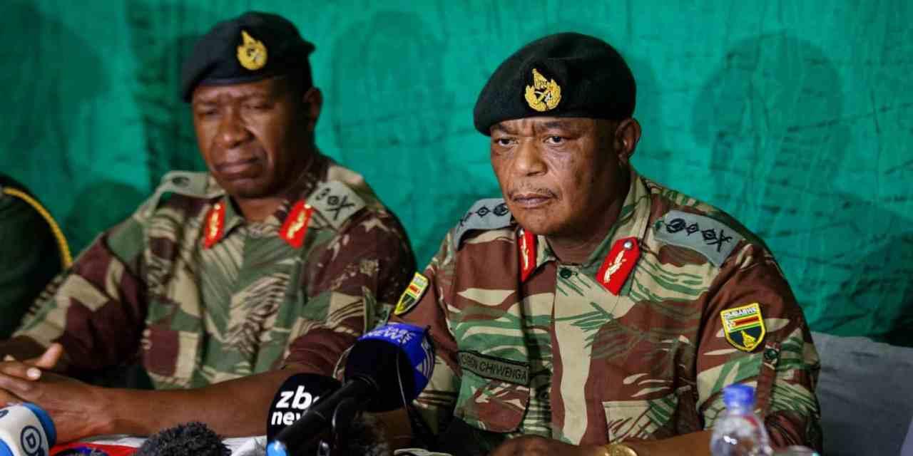 Mnangagwa embraces Chamisa..Zim Army about to seize power??