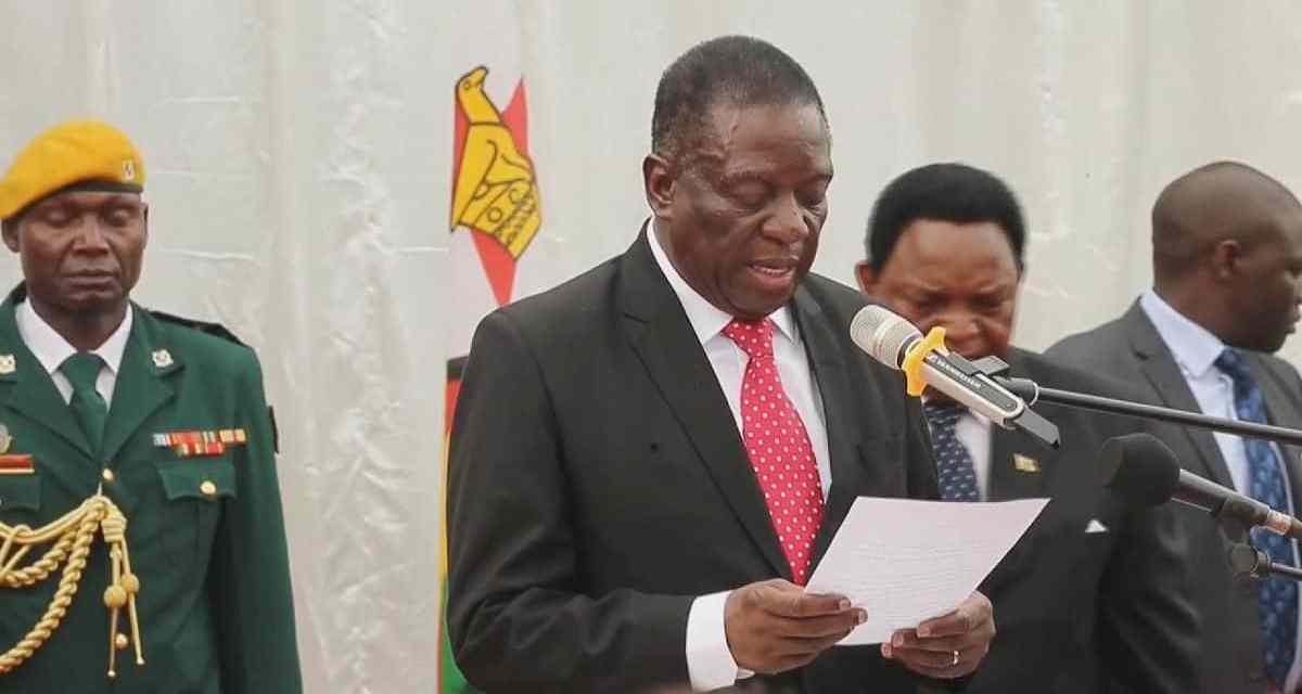 Mnangagwa appoints 2 new CIO Deputy Director-Generals to cover himself