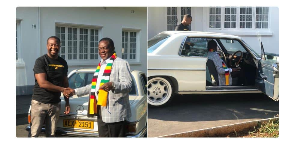 Questions over Mnangagwa son's source of wealth