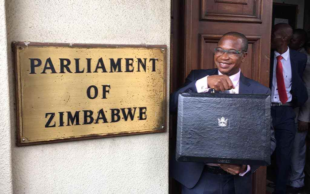 MDC MPs thrown out of Parliament over ED ..Live Video: Zimbabwe 2019 National Budget Presentation..Mthuli Ncube
