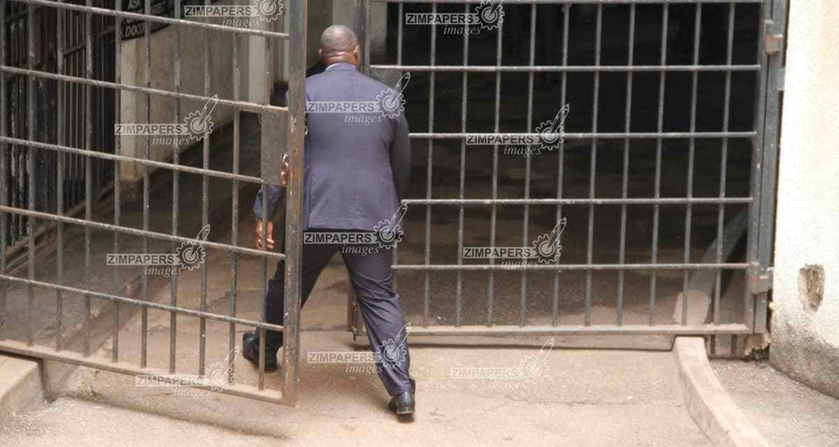 PICTURES: Zim ministers urged to upgrade police cells in case they get locked up