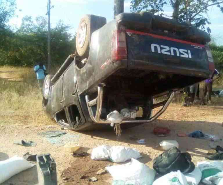 Binga Chief who insulted ED's wife dead in car accident?..PICTURES