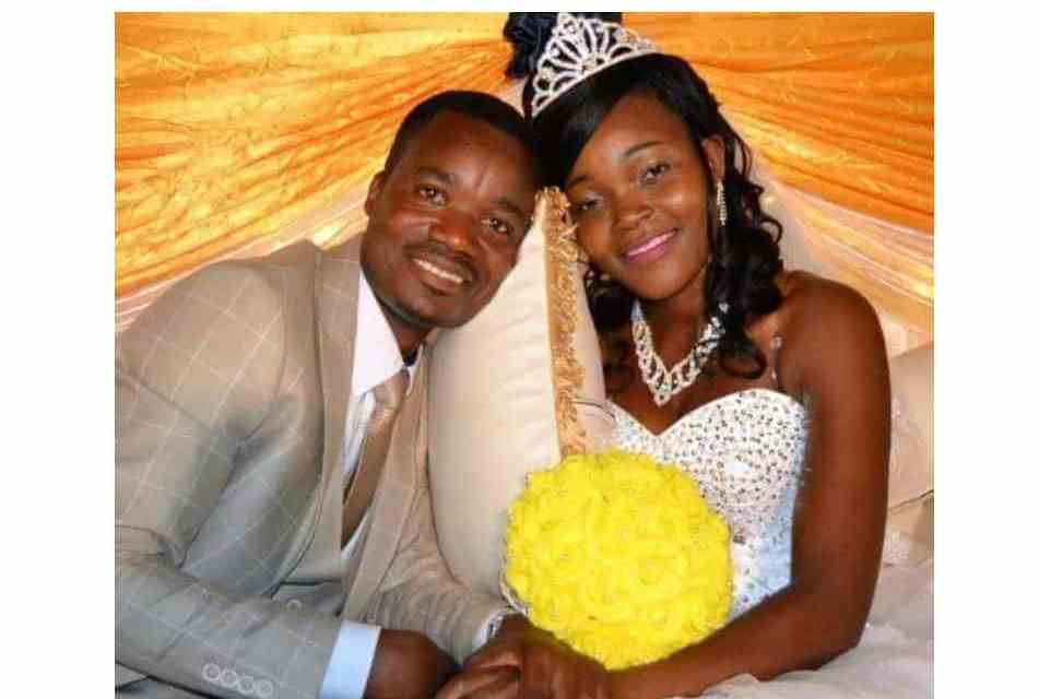 Newly wedded Zim couple killed by Cyclone Idai..Picture