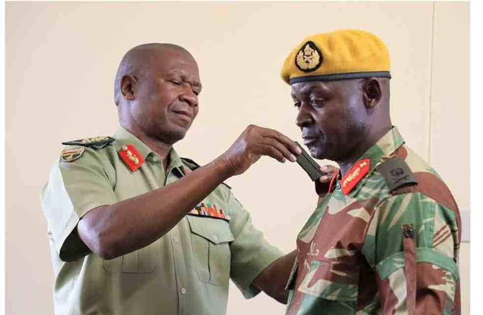 ED forced to promote Chiwenga's allies after firing them