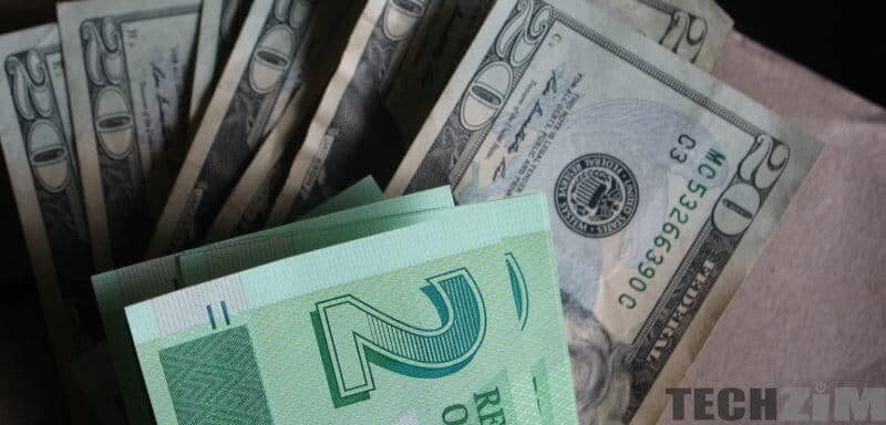 Zim black market-official money exchange rates today: 14-01-20