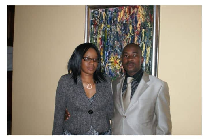 Chamisa's wife breathes fire over mic incident