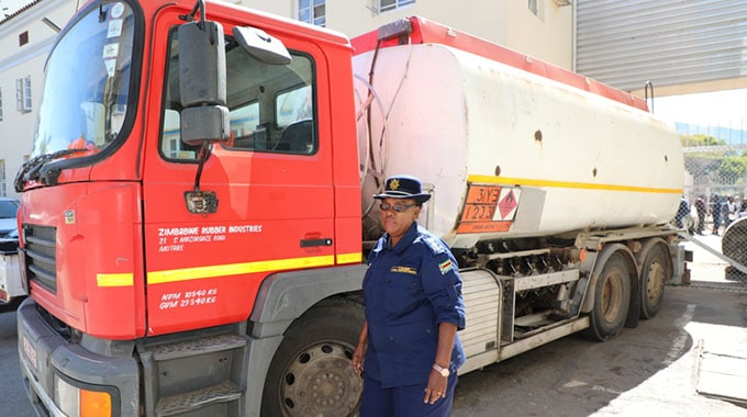 Manyuchi arrested over 18 000 litres fuel scam..PICTURE