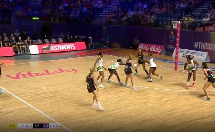 Watch Live Video: Zimbabwe Gems vs New Zealand..NetBall World Cup 2019